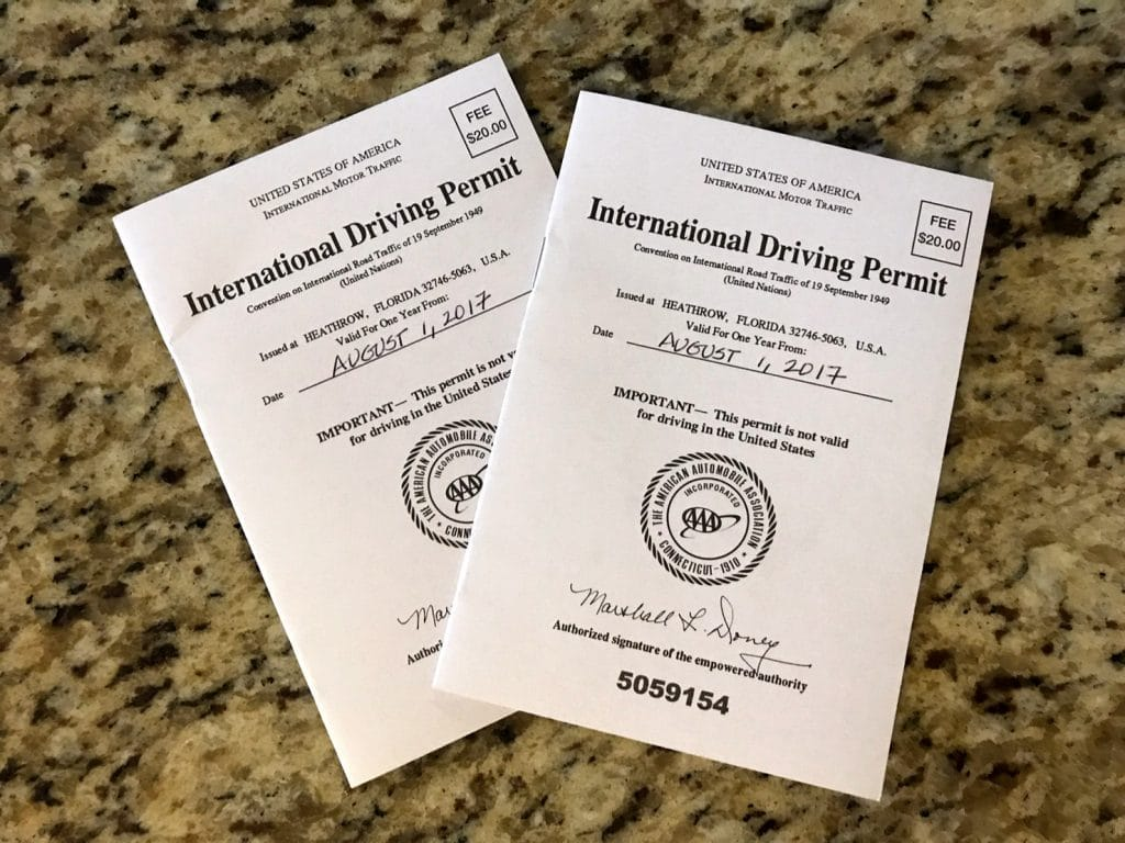 How to Get an International Drivers Permit - The Permits