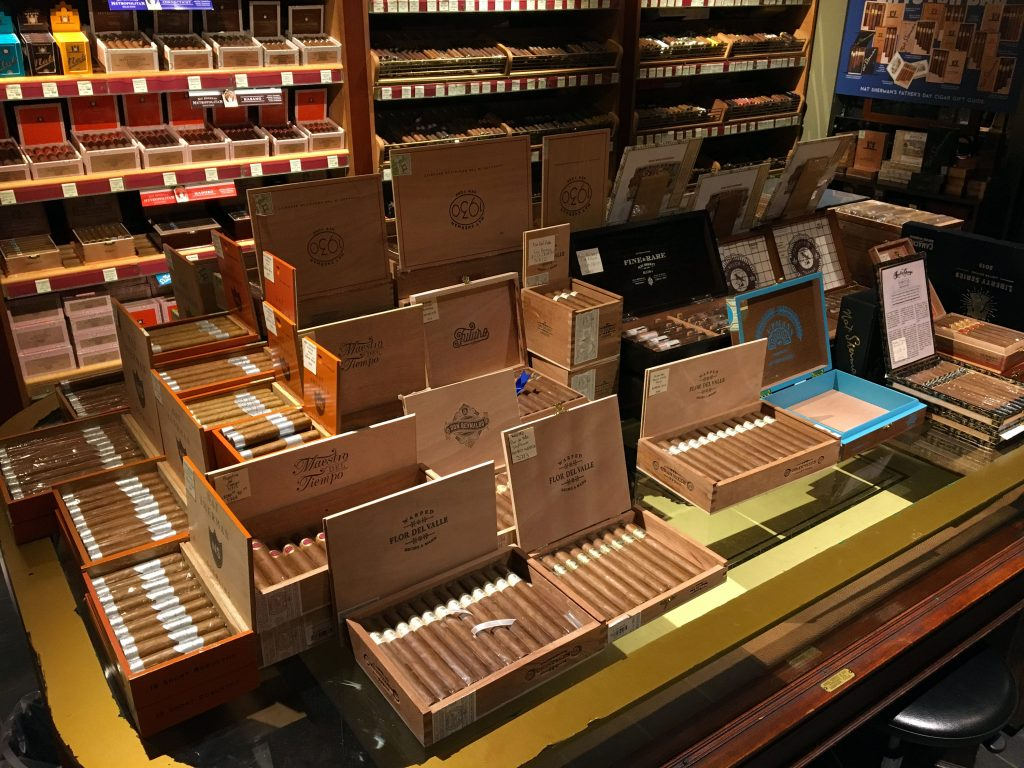 Nat Sherman Cigar Shop - Cigar Selection