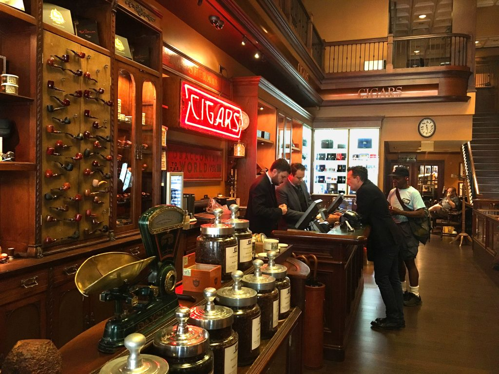 Nat Sherman Cigar Shop NYC - Inside the Shop