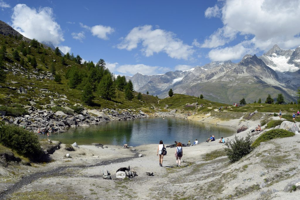 5 Lakes Hike - Lake Grünsee