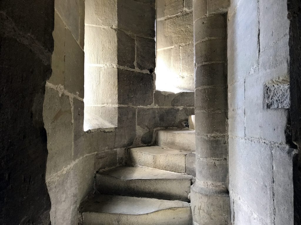 A Visit to the Ancient Cathedral of Lausanne - Bell Tower Staircase