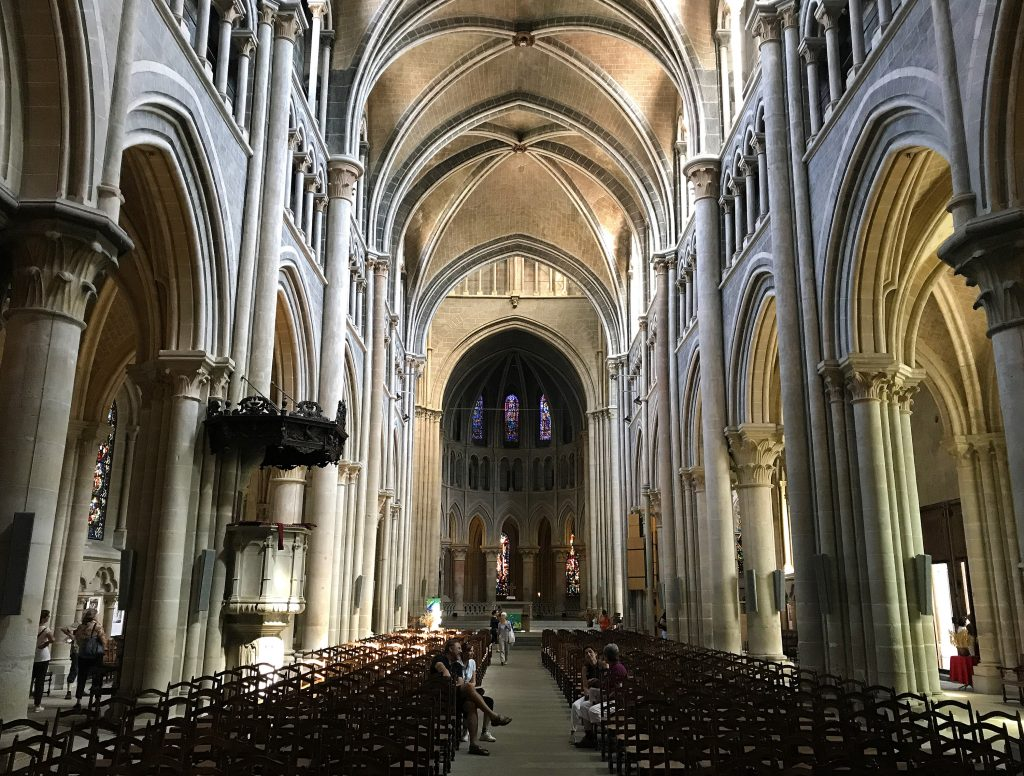 A Visit to the Ancient Cathedral of Lausanne - Inside the Cathedral