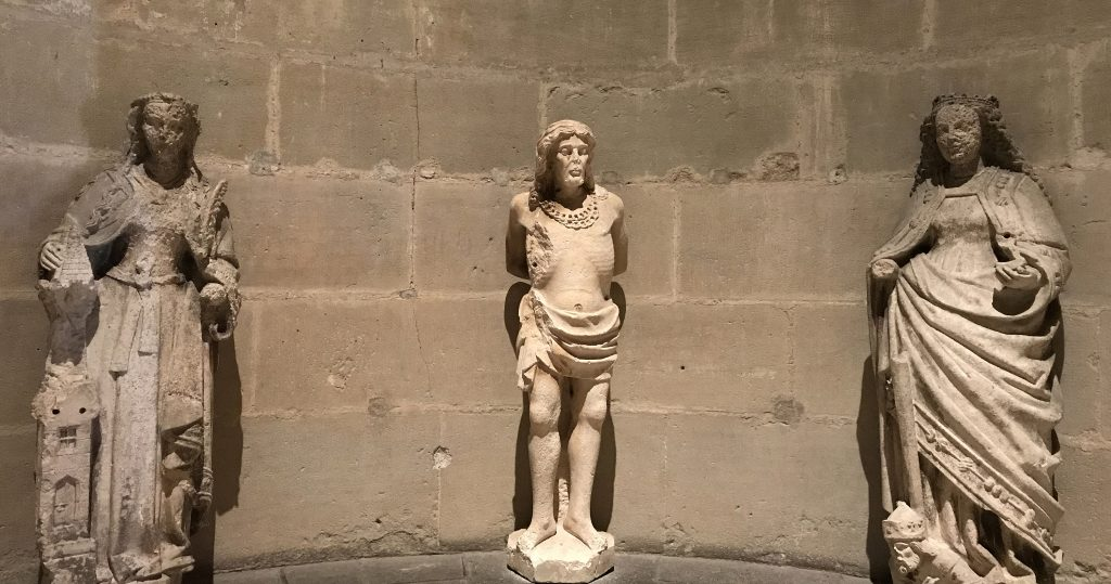 A Visit to the Ancient Cathedral of Lausanne - Statues