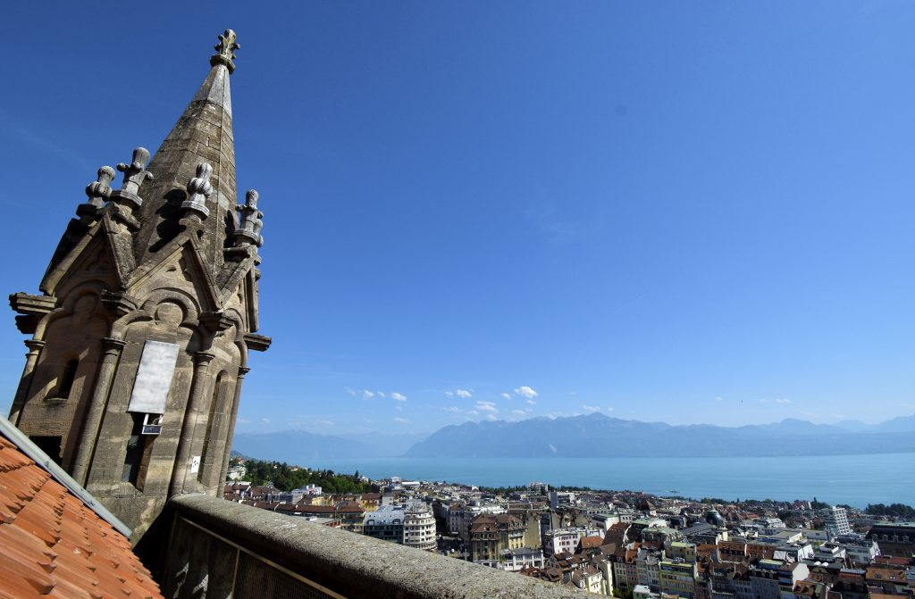 A Visit to the Ancient Cathedral of Lausanne - View from the Top