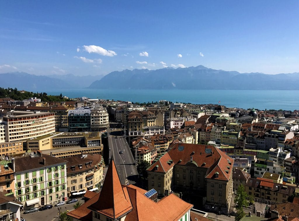 A Visit to the Ancient Cathedral of Lausanne - View from the Tower
