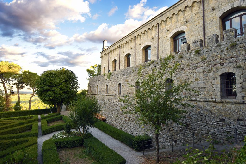 Fortress of Montepulciano Wine Shop - Outside of the Fortress
