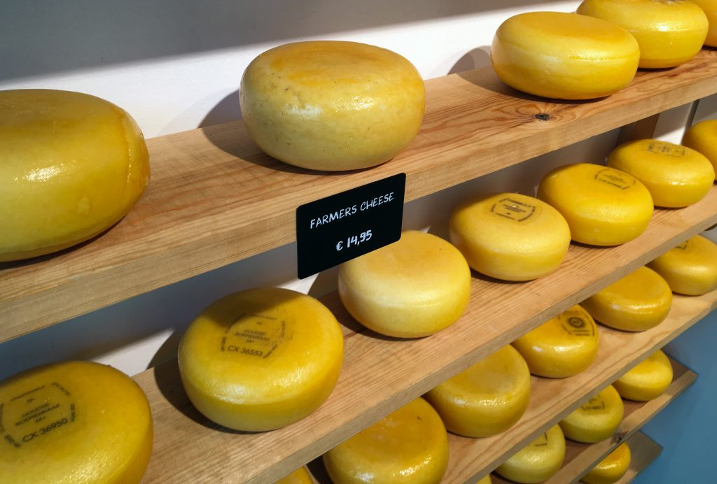 Fun Things to do in Amsterdam - Cheese in a Cheese Shop