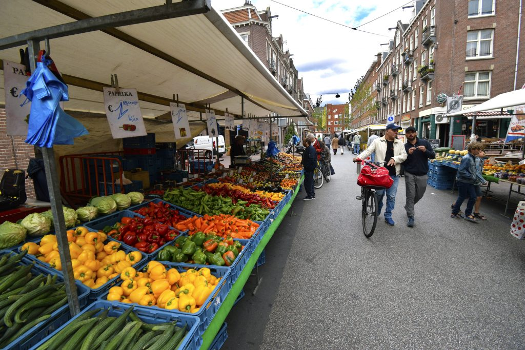 Fun Things to do in Amsterdam - De Hallen Food Market