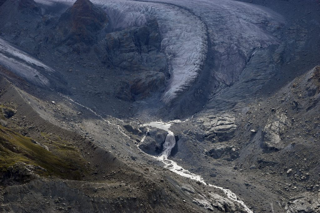 Gornergrat Cog Train - Glacier Runoff