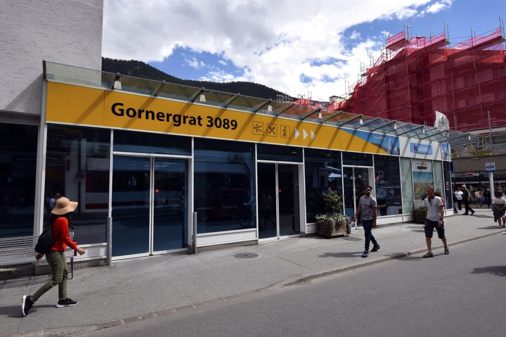 Gornergrat Cog Train - Valley Station