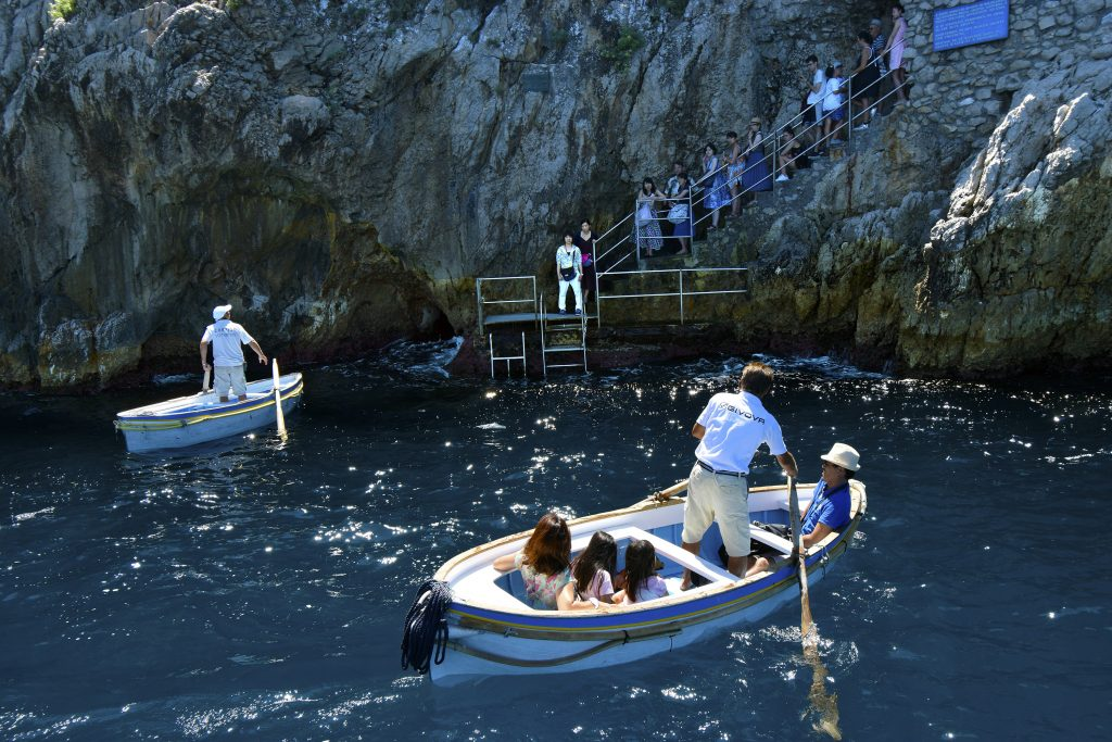 How to Get to the Blue Grotto on Italy's Amalfi Coast - Entrance to the Blue Grotto