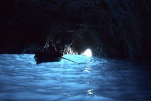 How to Get to the Blue Grotto on Italy's Amalfi Coast - Inside the Blue Grotto