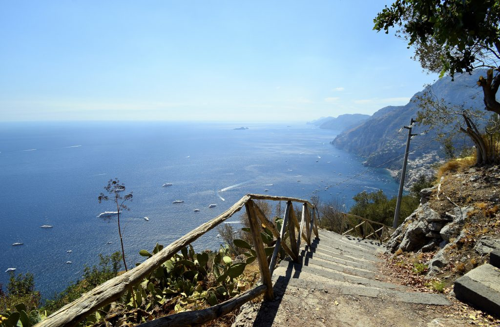 Path of the Gods - Steps from Nocelle to Positano