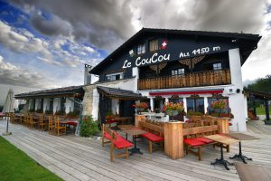 Review of the Hotel Le Coucou in Montreux, Switzerland - Outside of the Hotel