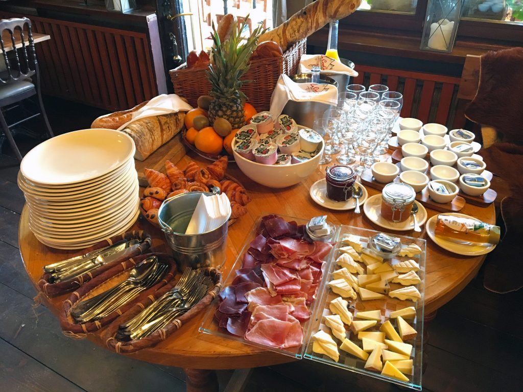 Review of the Hotel Le Coucou in Montreux, Switzerland - Breakfast Buffet