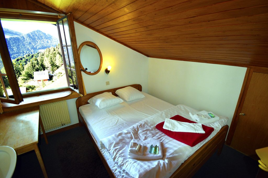 Review of the Hotel Le Coucou in Montreux, Switzerland - Inside of the Room